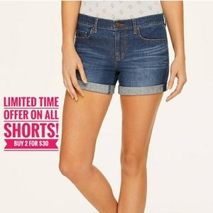 NWT LOFT: Size 2, Marine Blue Wash Denim Shorts